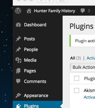 Custom Post Type in WordPress admin screen